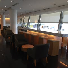 Photo taken at Cathay Pacific First and Business Class Lounge by Jesus V. on 6/9/2015