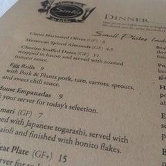Photo taken at Söntés Restaurant & Wine Bar by Jason D. on 5/2/2014