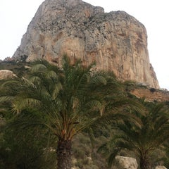 Photo taken at Puerto Ifach by Ana F. on 3/31/2013