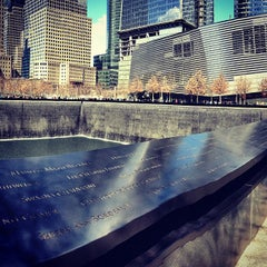 Photo taken at National September 11 Memorial & Museum by Leah F. on 3/30/2013