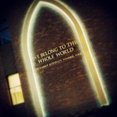 Photo taken at Cebula Hall: Saint Martin's University by Virgil A. on 5/3/2013
