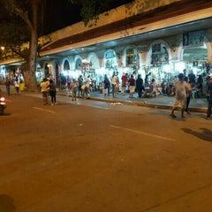 Photo taken at Plaza Del Pilar by Cedrick Z. on 5/15/2016
