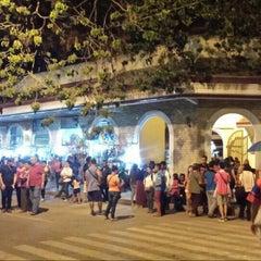 Photo taken at Plaza Del Pilar by Cedrick Z. on 4/3/2016