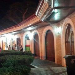 Photo taken at Plaza Del Pilar by Cedrick Z. on 4/10/2016