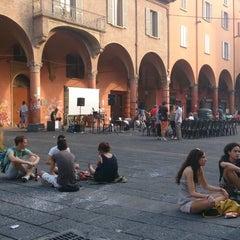 Photo taken at Piazza Verdi by Emilio F. on 7/12/2013