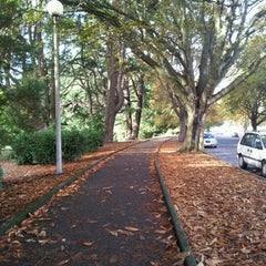 Photo taken at Volunteer Park by Jenny B. on 10/24/2012