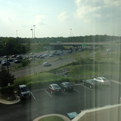 Photo taken at Hampton Inn & Suites Washington-Dulles International Airport by Tyler F. on 8/12/2013