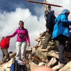 Photo taken at вр. Безбог, 2645м / Bezbog peak, 8677ft by Diyan Y. on 9/21/2014