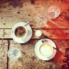 Photo taken at Workshop Coffee Co. by Matthew P. on 2/11/2013