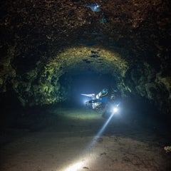 Photo taken at Ginnie Springs by Cavediving.fi on 1/28/2015