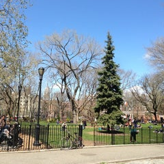 Photo taken at Tompkins Square Park by Betsy B. on 4/14/2013