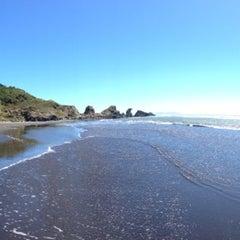 Photo taken at Playa de Tirúa I by Deimos on 1/28/2014