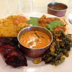 Photo taken at Aahar Indian Cuisine by Michael R. on 5/16/2013