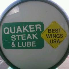 Photo taken at Quaker Steak & Lube® by David M. on 10/1/2012