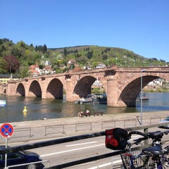 Photo taken at Alte Brücke by Papa G. on 4/25/2013