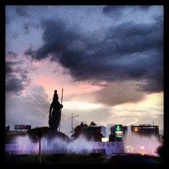 Photo taken at Glorieta Fuente La Minerva by Othaner K. on 9/21/2013