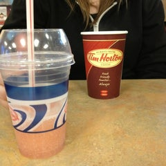 Photo taken at Tim Hortons by Roxanne G. on 4/17/2013