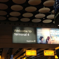 Photo taken at Terminal 4 by Miguel R. on 12/16/2012