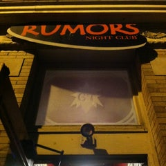 Photo taken at Rumors Night Club by Billy A. on 4/12/2013
