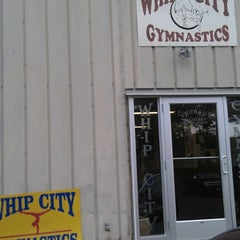Photo taken at Whip City Gymnastics by Dianne F. on 8/1/2012