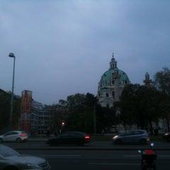 Photo taken at Wien Museum by Melanie T. on 4/14/2012