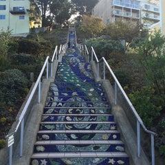 Photo taken at Hidden Garden Mosaic Steps by Connie D. on 11/5/2015