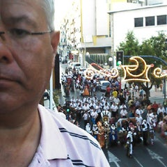 Photo taken at Barrio de San Blas by Angel M N. on 7/6/2013