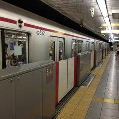 Photo taken at 四谷三丁目駅 (Yotsuya-sanchome Sta.) (M11) by Mikan M. on 6/23/2013