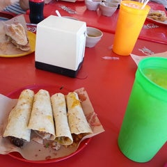 "Photo taken at Taqueria ""chico che"" by Raul R. on 7/27/2014"