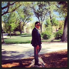 Photo taken at University of New Mexico by David M. on 4/21/2013