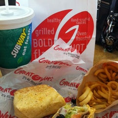Photo taken at Great Wraps - International Plaza Mall by Beverly M. on 10/5/2013
