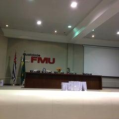 Photo taken at FMU - Campus Santo Amaro by Nat B. on 5/10/2013