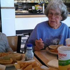 Photo taken at Baja Fresh Mexican Grill by Melissa Z. on 5/7/2013