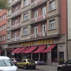 Photo taken at Hotel Savoy Berlin by Thorsten D. on 9/19/2014