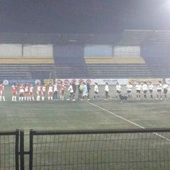 Photo taken at Estadio Ruben Marcos Peralta by Parra C. on 8/4/2014