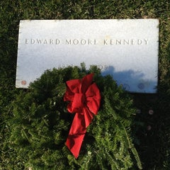 Photo taken at Edward Ted Kennedy Grave by AlohaKarina 🌺🌈🏄🏻🍹 on 12/15/2012