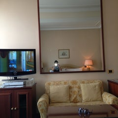 Photo taken at Hotel Internazionale by Olga S. on 4/23/2013