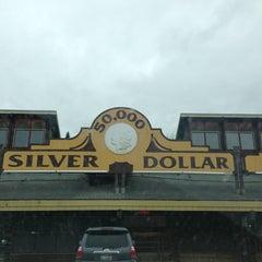 Photo taken at 50,000 Silver Dollar Bar by Bobbie D. on 4/8/2013
