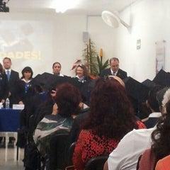 Photo taken at Universidad Insurgentes Plantel Norte by Yuriria G. on 7/3/2015