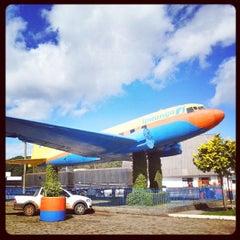 Photo taken at Posto do Avião by Omar Freitas J. on 8/15/2013