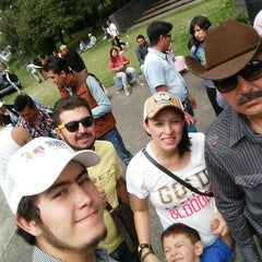 Photo taken at 3ª Sección del Bosque de Chapultepec by Sabino B. on 6/14/2015