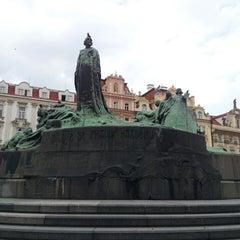 Photo taken at Staroměstské náměstí | Old Town Square by Michal V. on 5/7/2013