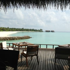 Photo taken at One & Only Reethi Rah Restaurant by Shamma A. on 4/5/2013