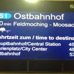 Photo taken at S Flughafen München by Kai B. on 11/27/2012