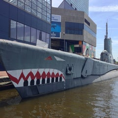 Photo taken at USS Torsk (SS-423) by Wiriya H. on 5/3/2013