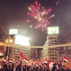Photo taken at Tahrir Square   ميدان التحرير by Mohamed A. on 7/19/2013