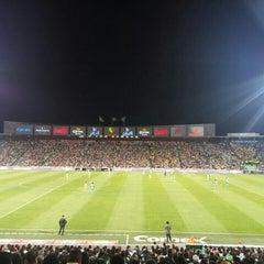 Photo taken at Territorio Santos Modelo Estadio by Juan G. on 8/15/2015