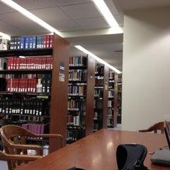 Photo taken at McKillop Library - Salve Regina by Julie G. on 4/16/2013