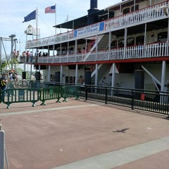 Photo taken at Steamboat Natchez by James K. on 5/15/2013
