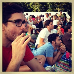 Photo taken at Erasmuspark by amsterdamize on 7/28/2013